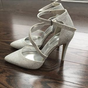 Call it springs sparkly heels